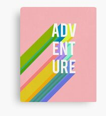 Adventure in Pink Canvas Print