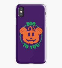 Boo To You iPhone Case/Skin