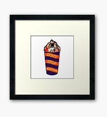 Slushie Cup || Glee Framed Print