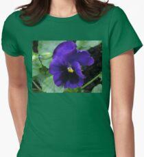 Little Purple Pansy T-Shirt