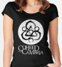 Coheed Cambria Women's Fitted Scoop T-Shirt