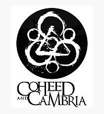 Coheed Cambria Band Photographic Print