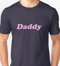 "Baby Pink ""Daddy"" Logo Unisex T-Shirt"