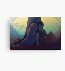 Sherlolly - Under the Tree Canvas Print