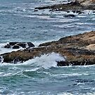 rocky shore by Stephen Burke