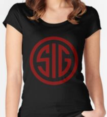 Sig Sauer Firearms Women's Fitted Scoop T-Shirt