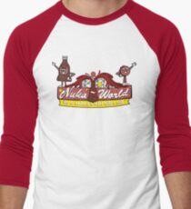 Nuka World - Logo couleur T-shirt baseball manches ¾