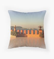 ... Villa Volpicelli / Posillipo - Naples - Italy Throw Pillow