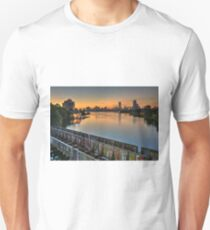 Boston's Grand Junction railroad crossing the Charles. Unisex T-Shirt