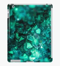 Bold Teal Green Geode iPad Case/Skin