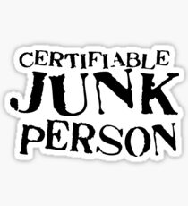 Junk Person Sticker