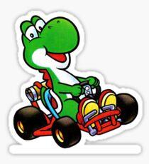 Yoshi karting Sticker