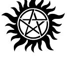 Supernatural inspired Anti-Possession Symbol Tattoo by AdrienneOrpheus