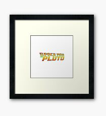 Space Man From Pluto Framed Print