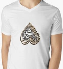 Panjtan pak names tee design                 Men's V-Neck T-Shirt