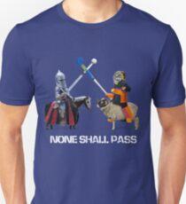 None Shall Pass - White T-Shirt