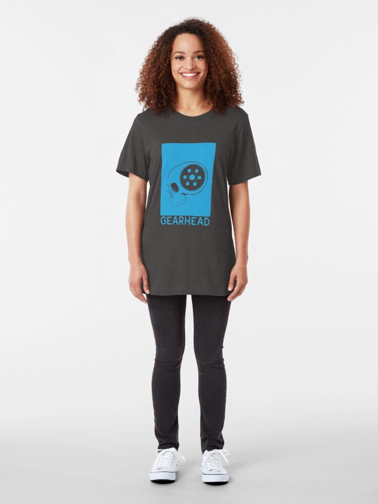Alternate view of GEARHEAD-Blue Slim Fit T-Shirt
