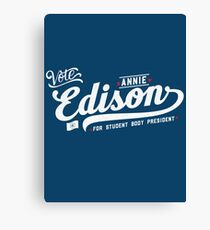 Vote Edison Canvas Print