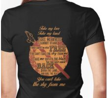 Firefly Ballad of Serenity - Can't Take the Sky Womens Fitted T-Shirt