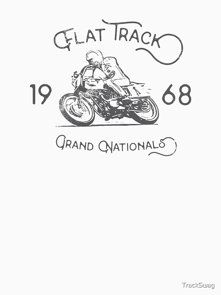 Flat Track Grand Nationals - black by TrackSwag