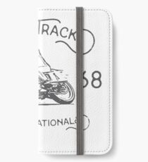 Flat Track Grand Nationals - black iPhone Wallet/Case/Skin