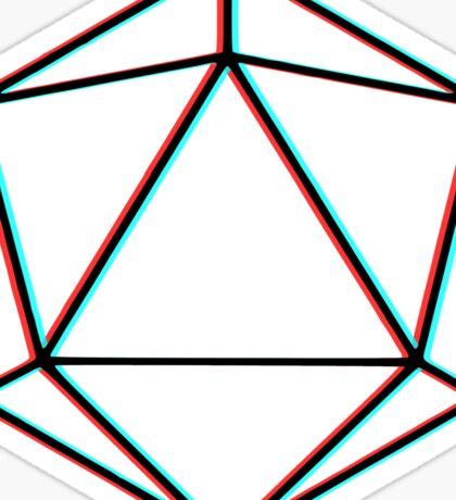 Odesza - Cyan/Red Sticker