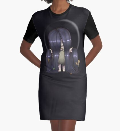 The Ring Samara Graphic T-Shirt Dress