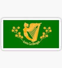 Erin Go Bragh Flag Sticker