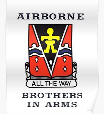 509th Airborne - Brothers in Arms Poster