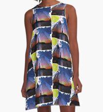 POWER (C) GYLLIAYN ART  A-Line Dress