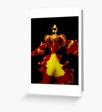 The Warrior - Orchid Alien Discovery Greeting Card