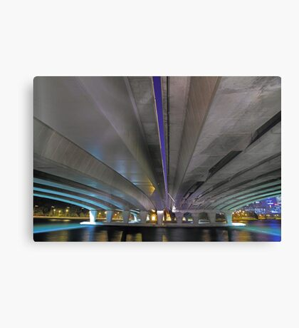 Under The Narrows Bridges  Canvas Print