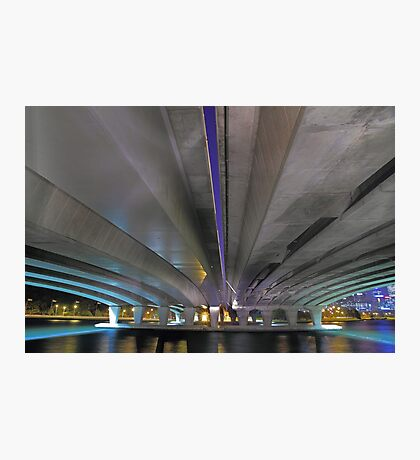 Under The Narrows Bridges  Photographic Print