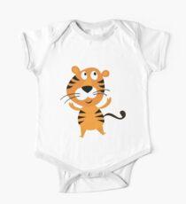 Cartoon Tiger Kids Clothes