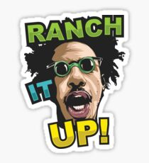 Eric Andre Ranch It UP! Sticker