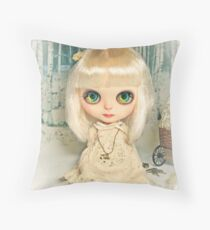 The Doll: Fleur Throw Pillow