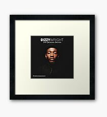 Dizzy Wright State of Mind Framed Print