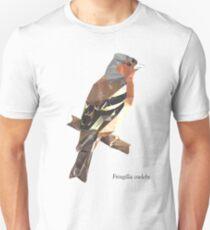 Fringilla coelebs [MALE] - Low Poly () Unisex T-Shirt