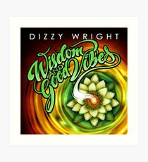 Dizzy Wright State of Mind Art Print