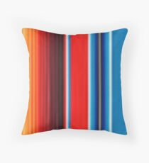 Colourful Mexican Pattern Throw Pillow
