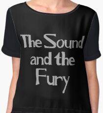 Ian Curtis - The Sound and the Fury Chiffon Top
