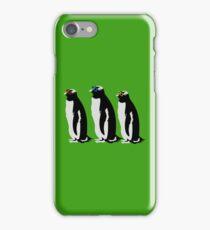 3 Penguins iPhone Case/Skin