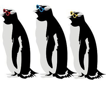 3 Penguins by Termister