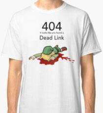 Error 404 Zelda Dead Link Classic T-Shirt