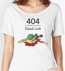 Error 404 Zelda Dead Link Women's Relaxed Fit T-Shirt