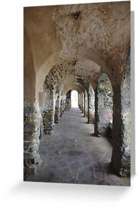 Ancient Colonade by Francis Drake