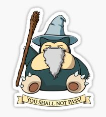 You Shall Not Pass (While I Sleep) Sticker