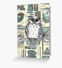 Dotti the Owl 3 Greeting Card