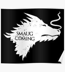 The Desolation Of Smaug - Smaug is Coming Poster