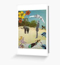 Beach Postcard Greeting Card